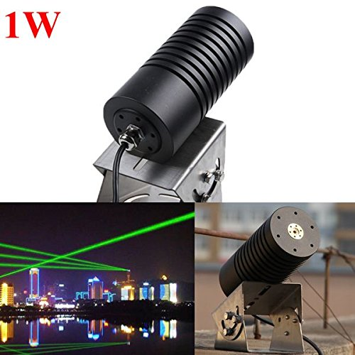 520nm 1W 1000mW Waterproof Outdoor Green Laser Module Landscape Laser Light (Laser Module 1000mw compare prices)