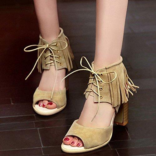 Classico Big Dimensiones Sandali Donna Zanpa Gladiator Apricot AIwq7x5