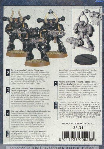 Chaos Space Marines: Chaos Marines (Chaos Marines)