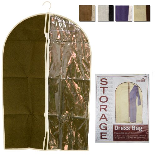 1 Storage Garment Bag Dress Gowns Protective Cover Dustproof Coat Jacket Travel