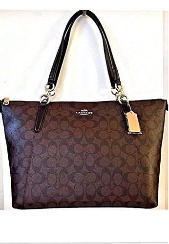 Coach Signature Brown Black F58318 product image