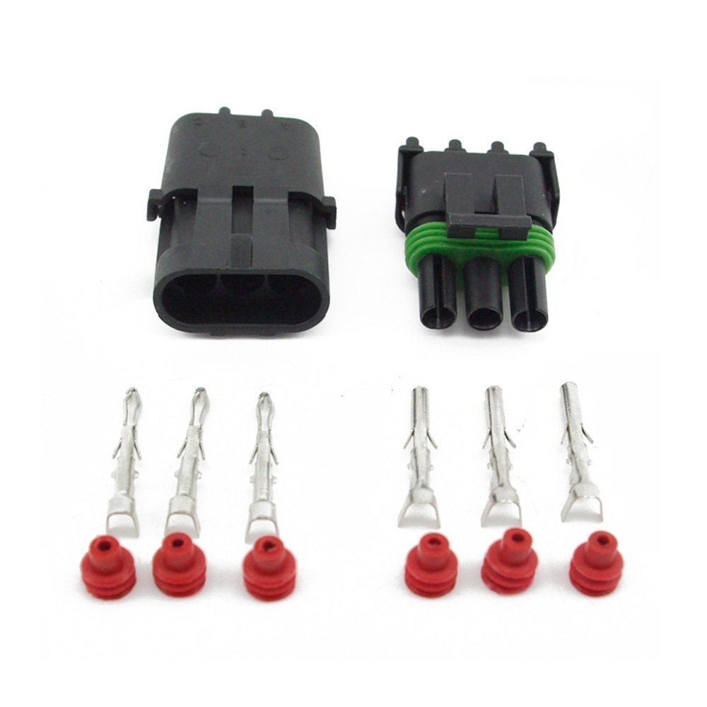 51p9HZQ NcL._SL1000_ amazon com plug connectors ignition parts automotive Automotive Wire Connectors at mifinder.co