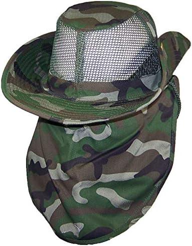 UU Mil-tec ALA ANCHA EE tipo Woodland sombrero Sombrero Tropas ancha trop sombrero
