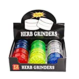 Plastic Herb Grinder Crusher 63 mm 3 Layers