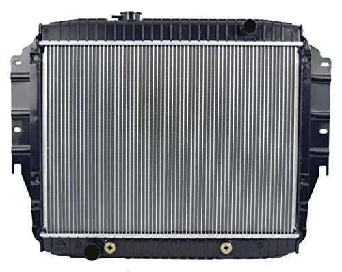 RADIATOR FOR FORD FITS ECONOLINE VAN E150 E250 E350 5.0 5.8 V8 8CYL 1456 Ford Club Wagon Van