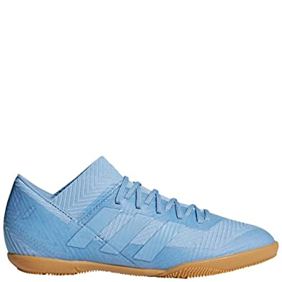 7ac02b000877e2 adidas Nemeziz Messi Tango 18.3 Indoor Shoe - Kid s Soccer 1.5 Ash Blue Raw  Grey