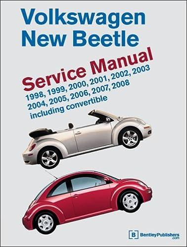 volkswagen new beetle service manual 1998 1999 2000 2001 2002 rh amazon com 2004 volkswagen beetle convertible owners manual pdf 2004 volkswagen beetle owners manual free