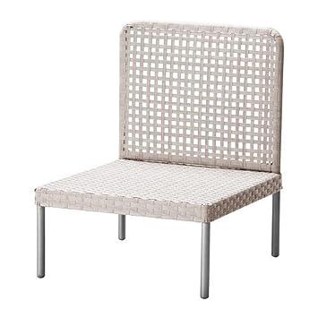 IKEA ENHOLMEN - Una sección de asientos, de color gris claro: Amazon.es: Jardín