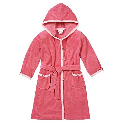 Schiesser Mädchen Bademantel, Gr. 140, Rot (pink 504)