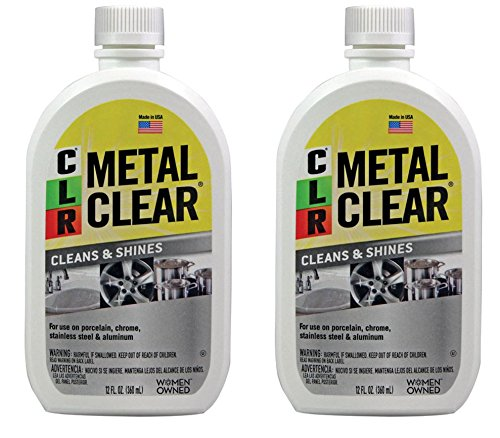 CLR MC-12 Metal Clear, 12 oz. Bottle - 2 Pack