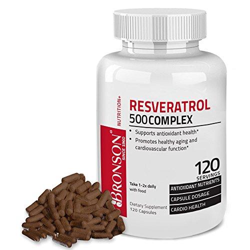 Bronson Resveratrol 500 Complex Capsules product image