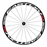 HMANE Bike Stickers, Bicycle Wheel Rims Light Reflective Stickers Decal