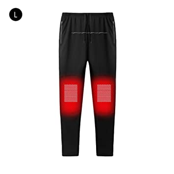 cfcad27040633 USB Electric Heated Pants Intelligent Heating Warm Trousers For Men And  Women Carbon Fiber Heating Pants