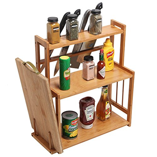 Bamboo Cutting Cutlery Storage Holder