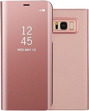 Funda Samsung S8 Clear View Standing Cover, Aursen Carcasa Case ...
