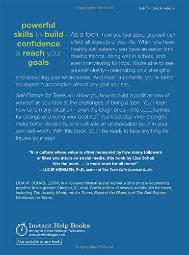 Amazon self esteem for teens six principles for creating the amazon self esteem for teens six principles for creating the life you want the instant help solutions series 9781626254190 lisa m schab lcsw fandeluxe Image collections