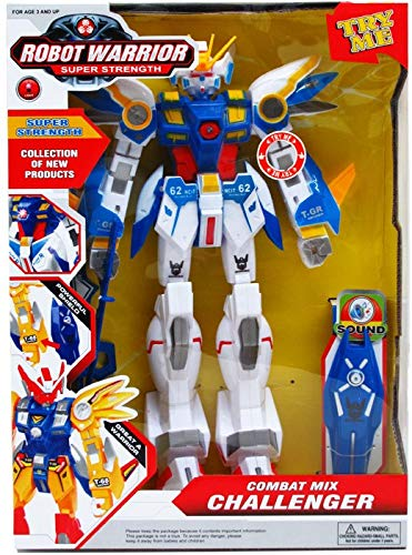 """DD 15"""" Robot Warrior With Light And Accessories(pack Of 12)"""