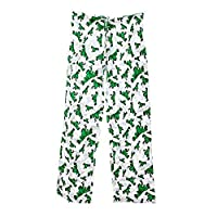 Peace Frogs Ribbit Frog Lounge Pant (White, Small)