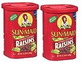 Sun Maid Natural California Raisins , 22.58oz (Pack of 2)