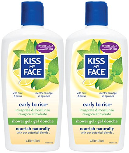 Kiss My Face Invigorating Early To Rise Shower Gel - Wild Mi