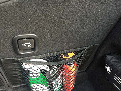 Trunk Storage Net Bottles Groceries Dimik Car Storage Net 2 PACK Storage Add On Organizers for Car Truck