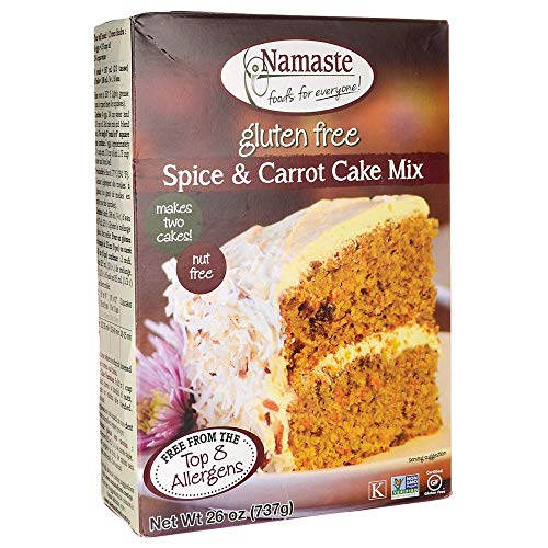 Namaste Foods Spice Cake Mix - 26 oz