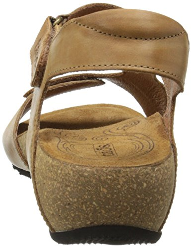Taos Women's Rita Wedge Sandal, Tan, 41 EU/10-10.5 M US by Taos (Image #2)
