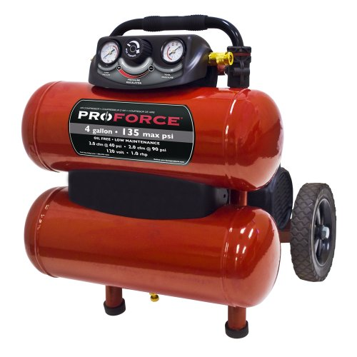 pro-force-vkf1080418-4-gallon-oil-free-air-compressor-with-dolly-and-extra-value-kit