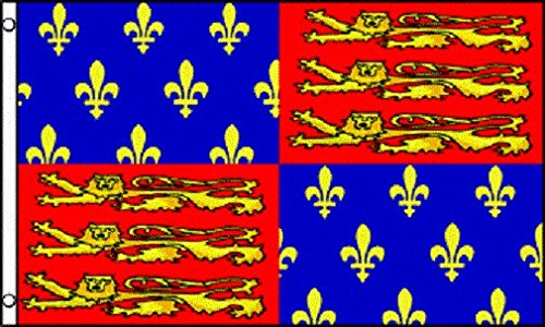 AZ FLAG Drapeau Roi /Édouard III dAngleterre 150x90cm Drapeaux Drapeau Anglaise Royale 90 x 150 cm