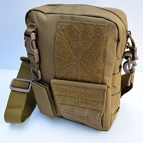Acid Tactical MOLLE First Aid Bag Pouch Trauma EMT Medic Utility - Tan / Sand color
