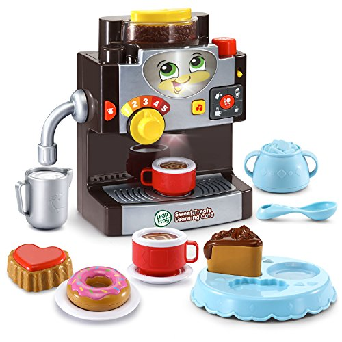 LeapFrog Sweet Treats Learning Café Amazon Exclusive, - Coffee Maker Set Play