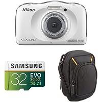 Nikon COOLPIX W100 (White) Starter Bundles