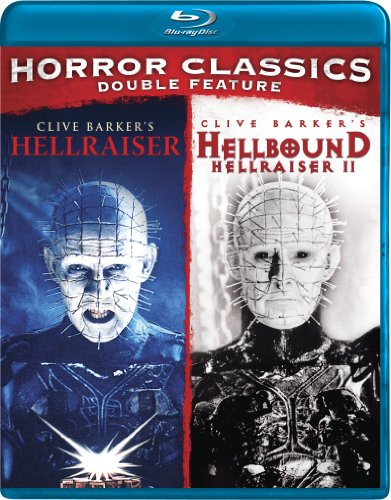 Horror Double Feature (Hellraiser/Hellbound: Hellraiser 2) - Two Blu Hellraiser Ray
