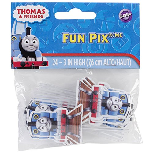 Wilton Licensed Thomas and Friends Fun Pix, Pack of 24