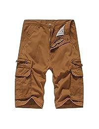 Cinhent Pants 2018 Men's Casual Outdoors Pocket Beach Work Cargo Shorts Trouser