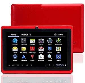 تابلت ون تاتش Q75S مقاس 7 انش اي بي اس بذاكرة سعة 8 جيجابايت وتقنية واي فاي، بلون احمر