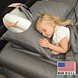 Best Toddler Bed Rails - Safety Bumper for Kids, Toddlers, Elderly - Made in USA - Free Washable Cover & Carrying Case (Standard, 1 PK)