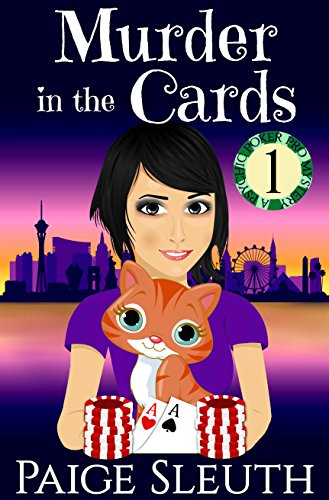 Murder in the Cards (Psychic Poker Pro Mystery Book 1) by [Sleuth, Paige]