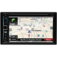 Sound Storm DD865BN Double Din, Touchscreen, Bluetooth, DVD/CD/MP3/USB/SD AM/FM Car Stereo, 6.5 Inch Digital LCD Monitor, Wireless Remote
