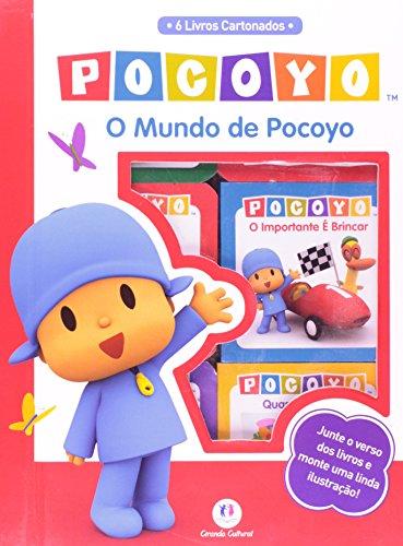 O Mundo de Pocoyo - Caixa com 6 Livros Cartonados