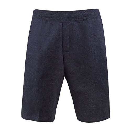 Free Country Men's Ultimate Lounge Short Relax Fit Dark Navy Large (Customizable Classic Short)