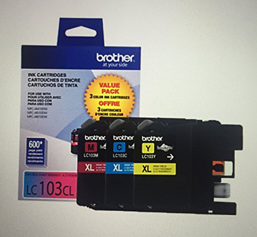 LC103 Color Ink Cartridges Pack