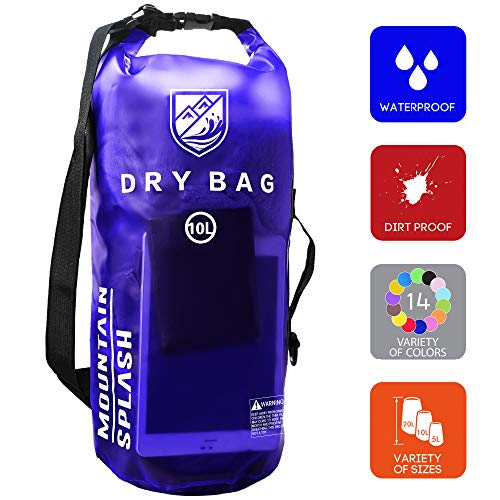 (Waterproof Dry Bag 5L/10L/20L-Water Resistant Lightweight Backpack with Handle-Floating Dry Storage Ocean Bag Keeps Gear Impervious to Water-Perfect for Kayaking, Boating, Birthday Gift, Vacation.)