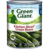 Green Giant Kitchen Sliced Green Beans, 14.5 Ounce (Pack of 24)