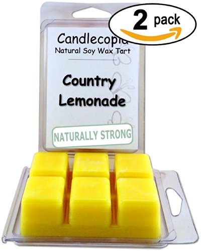 Candlecopia Country Lemonade Strongly Scented Hand Poured Pr
