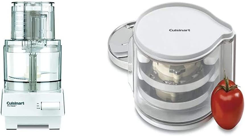 Cuisinart 088 Food Processor, 7_cup, White & DLC-DH Disc Holder