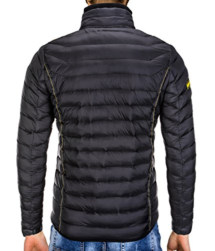 Down Black BetterStylz Men's Jacket Men's BetterStylz qvFtwp