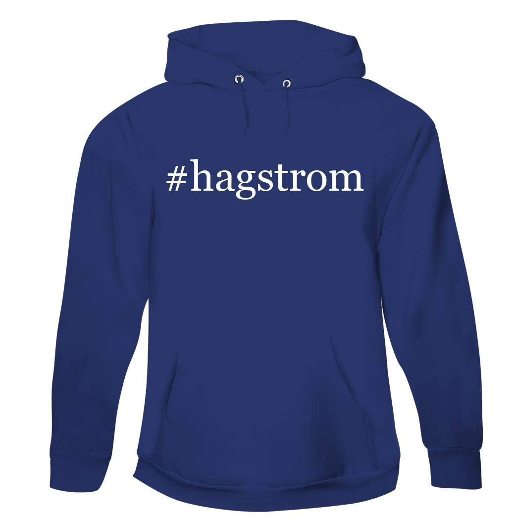#hagstrom - Men's Hashtag Pullover Hoodie Sweatshirt, Blue, X-Large by Harding Industries
