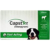 Novartis Capstar Green for Dogs Over 25 pounds - 6 Tablets