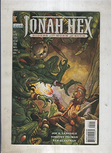 JONAH HEX Riders of the worm an such numero 5